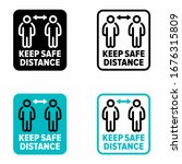 """keep safe distance"" infection... 
