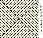seamless vector geometric... | Shutterstock .eps vector #167632223