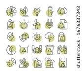 sustainable energy alternative... | Shutterstock .eps vector #1676337343