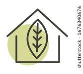 house ecology alternative... | Shutterstock .eps vector #1676340676