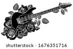 silhouette of a classical... | Shutterstock .eps vector #1676351716