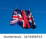 Union Jack Boxer Shorts Hanging ...