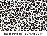 leopard seamless pattern in...   Shutterstock .eps vector #1676458849