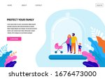 stay at home  protect your...   Shutterstock .eps vector #1676473000