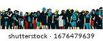 illustration of large... | Shutterstock .eps vector #1676479639