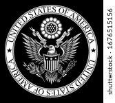 united states of america coat... | Shutterstock .eps vector #1676515156