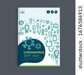 medical coronavirus brochure ...   Shutterstock .eps vector #1676586913