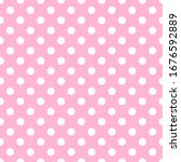 Cute Pink Seamless Pattern With ...
