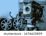 Old style movie projector ...