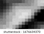 vector halftone dots background ... | Shutterstock .eps vector #1676634370