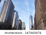 new york  usa   october 28 ...   Shutterstock . vector #167665676