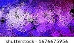 dark purple vector backdrop... | Shutterstock .eps vector #1676675956
