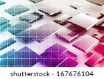 nuclear power research and... | Shutterstock . vector #167676104