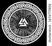 Ancient Round Celtic ...