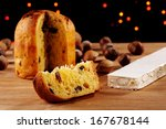 panettone is the traditional... | Shutterstock . vector #167678144