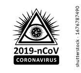 coronavirus virus covis  19... | Shutterstock .eps vector #1676787490