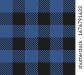 lumberjack plaid seamless... | Shutterstock .eps vector #1676791633