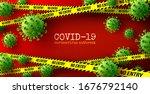 vector of coronavirus 2019 ncov ... | Shutterstock .eps vector #1676792140