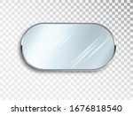 realistic round mirrors...   Shutterstock .eps vector #1676818540