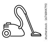 vacuum cleaner icon in trendy... | Shutterstock .eps vector #1676844793