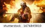 Firefighter Saves A Child From...