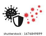 protection from corona virus... | Shutterstock .eps vector #1676849899