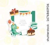 cartoon art styles. decorative... | Shutterstock .eps vector #1676860936