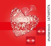 valentine day backgrounds.   Shutterstock .eps vector #167689376