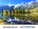 Swiss Mountain And Lake Scenery ...