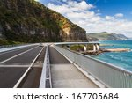Sea Cliff Bridge Along The...