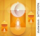 ramadan kareem abstract... | Shutterstock .eps vector #1677119296