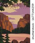 Yosemite Vector Illustration...