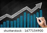 Blackboard Stock Rise Concept...