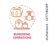 Bunkering Operation Red Concept ...