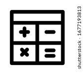 calculator icon set. vector...