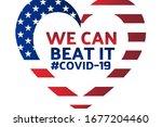 patriotic inspirational... | Shutterstock .eps vector #1677204460