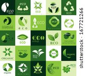 ecology icons set   isolated on ... | Shutterstock .eps vector #167721266