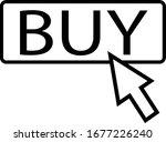 buy icon on white background....