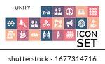modern simple set of unity... | Shutterstock .eps vector #1677314716