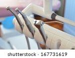 dental handpiece and three way... | Shutterstock . vector #167731619