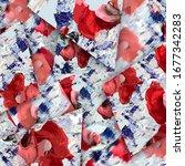 pattern design. textile....   Shutterstock . vector #1677342283