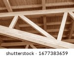 The Construction Of The Wooden...
