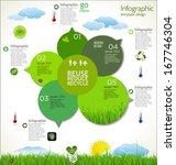 modern ecology design layout | Shutterstock .eps vector #167746304