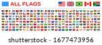all world flags   vector...   Shutterstock .eps vector #1677473956