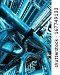 industrial zone  steel... | Shutterstock . vector #167749133