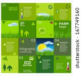 modern ecology design layout | Shutterstock .eps vector #167749160