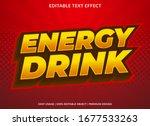 energy drink sticker text... | Shutterstock .eps vector #1677533263