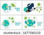 set vector illustration against ... | Shutterstock .eps vector #1677560110