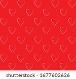 vector background pattern with... | Shutterstock .eps vector #1677602626