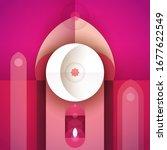 ramadan kareem abstract... | Shutterstock .eps vector #1677622549